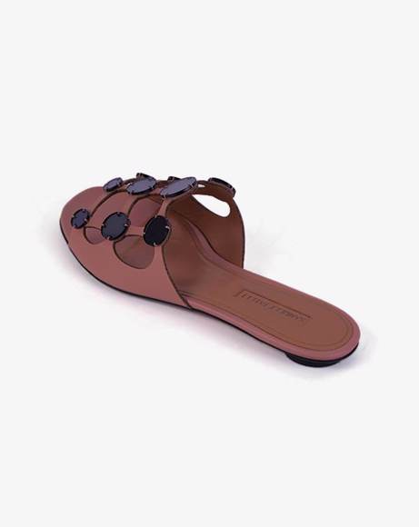 Picture of LEATHER SLIPPERS