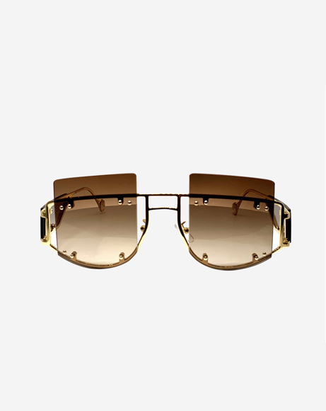 Picture of ANTISOCIAL SUNGLASSES - BOSSY BROWN
