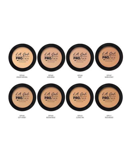 Picture of PRO FACE MATTE PRESSED POWDER - WARM HONEY