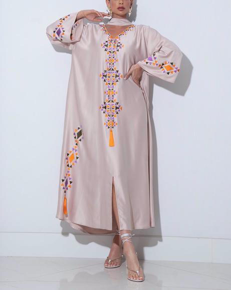 Picture of WOMEN LIGHT PINK DRESS