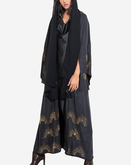 Picture of BLACK GOLD ABAYA