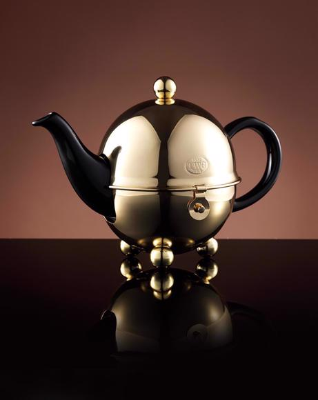 Picture of JAZZ GOLD DESIGN TEAPOT IN BLACK 500 ML