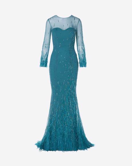 Picture of FULLY EMBELLISHED MERMAID GOWN