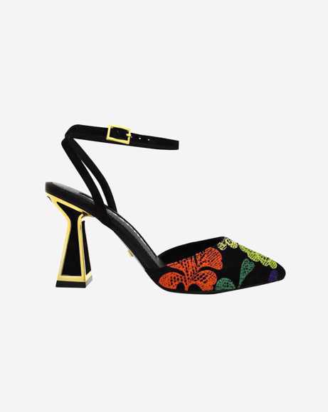 Picture of FLEUR EMBROIDERED PUMPS