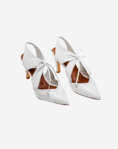 Picture of WHITE LAVEM HEELS